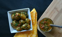 Summer of the Potato Salad: Red Chimichurri Potato Salad