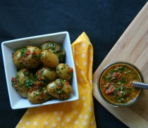 Idaho Potatoes Red Chimichurri Potato Salad Banner