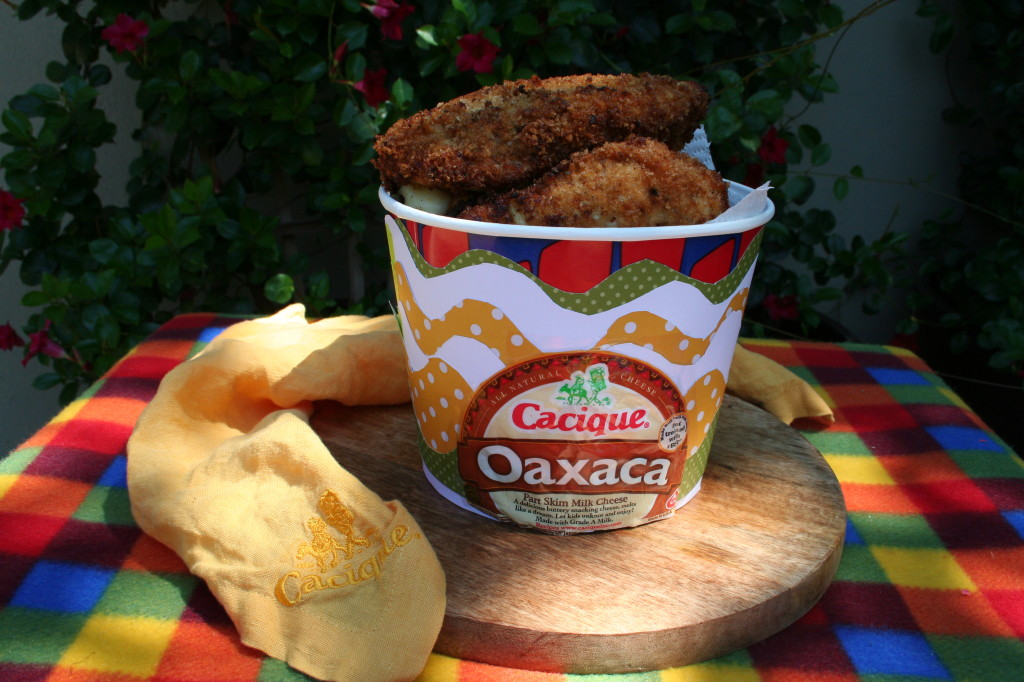 Cacique Stuffed Fried Chicken