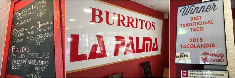 Burritos La Palma 1