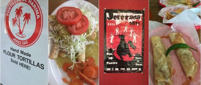 ALL THE WAY FROM ZACATECAS, MEXICO — BURRITOS LA PALMA