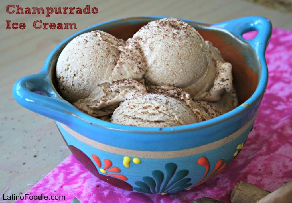 Champurrado Ice cream horizontal