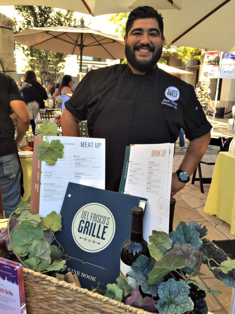 Chef Angel Flores from Del Frisco Grille in Pasadena