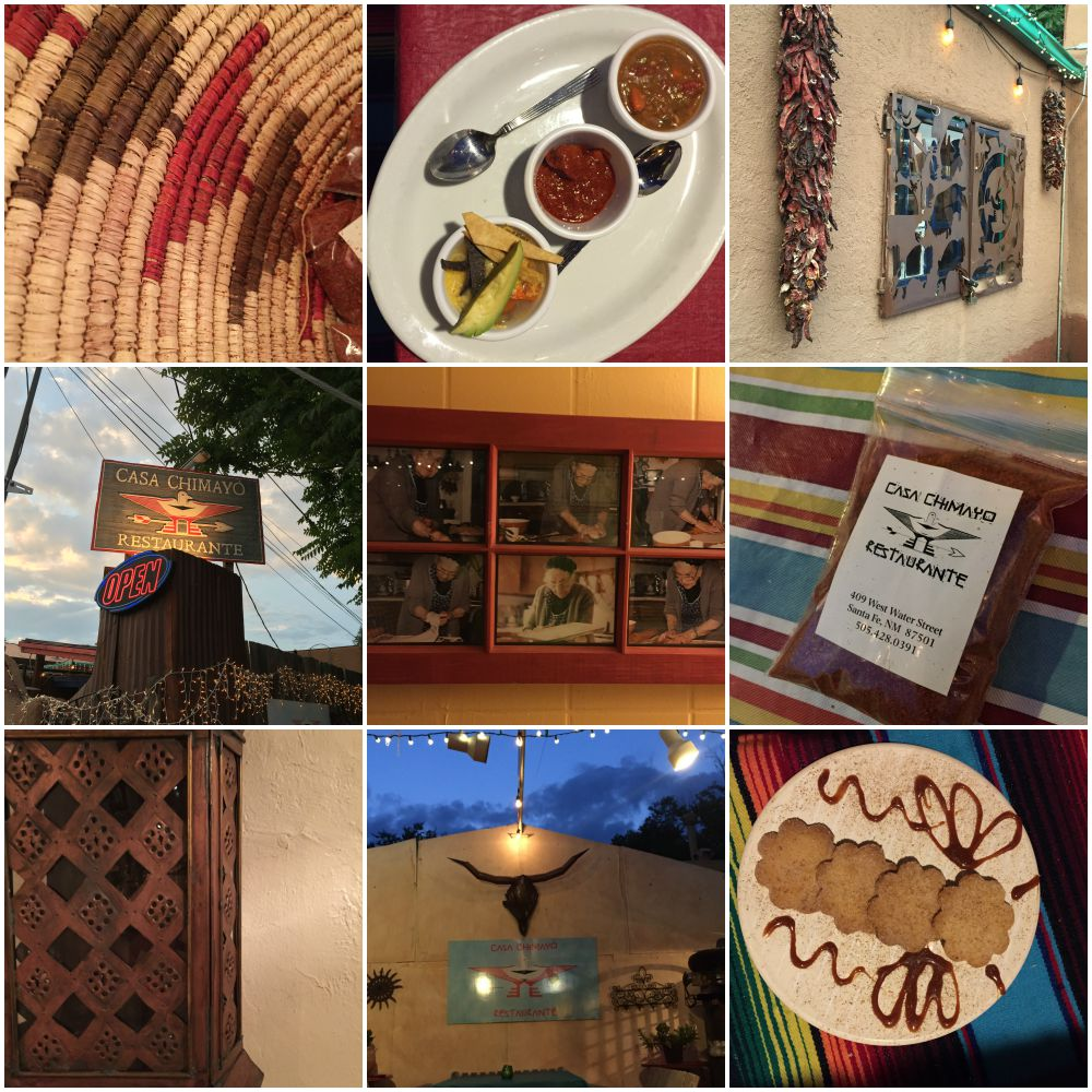 Santa Fe #SaborSW Casa Chimayo