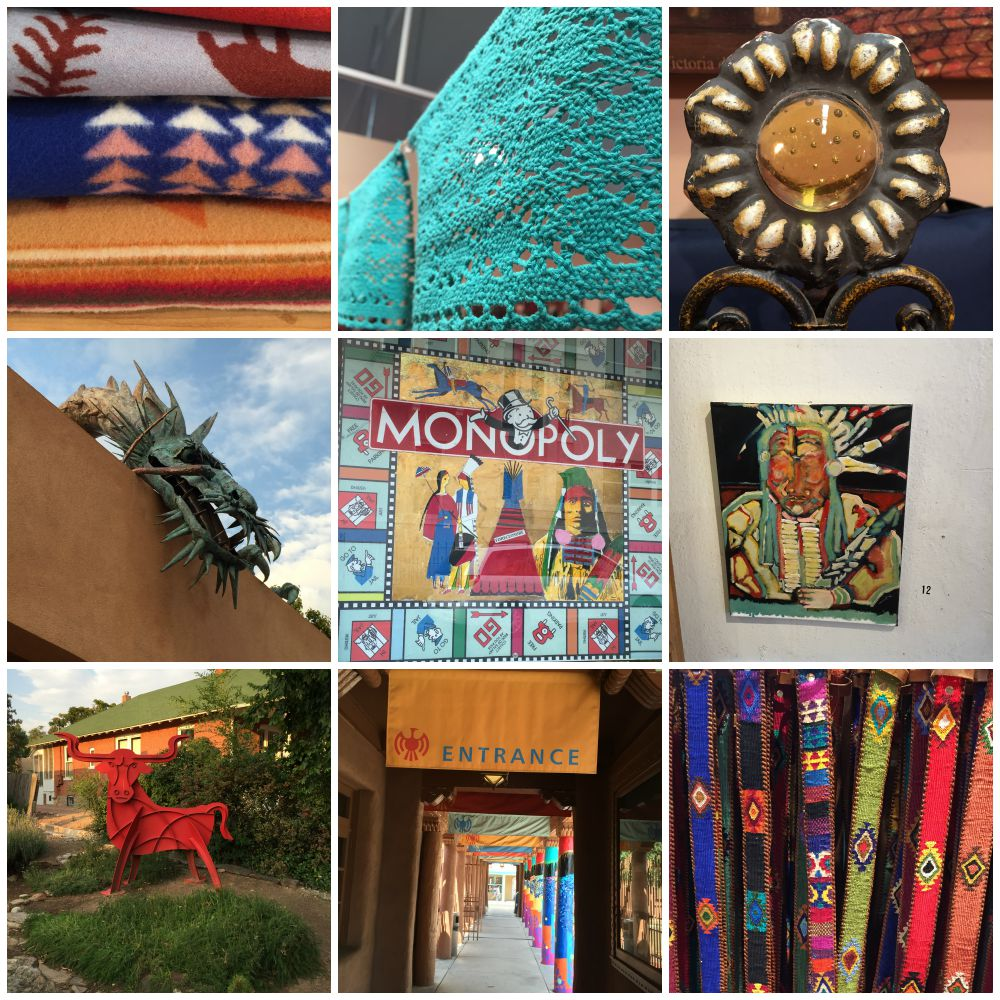 Santa Fe #SaborSW Shopping Sights