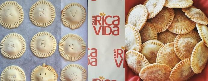 Pumpkin and Guava Empanadas #NuevaMesaQueRicaVida