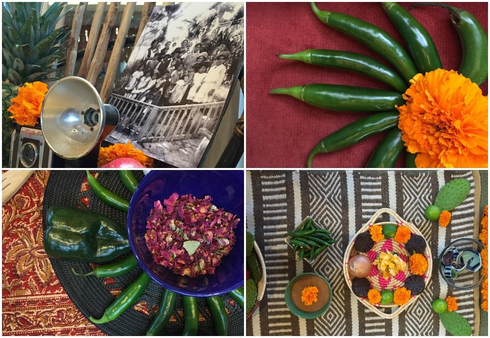 Abuelita Chocolate Dia de los Muertos Jennier Gutierrez Morgan Altar