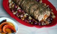 Calabaza en Tacha Stuffed Pork Loin: A New Thanksgiving Recipe