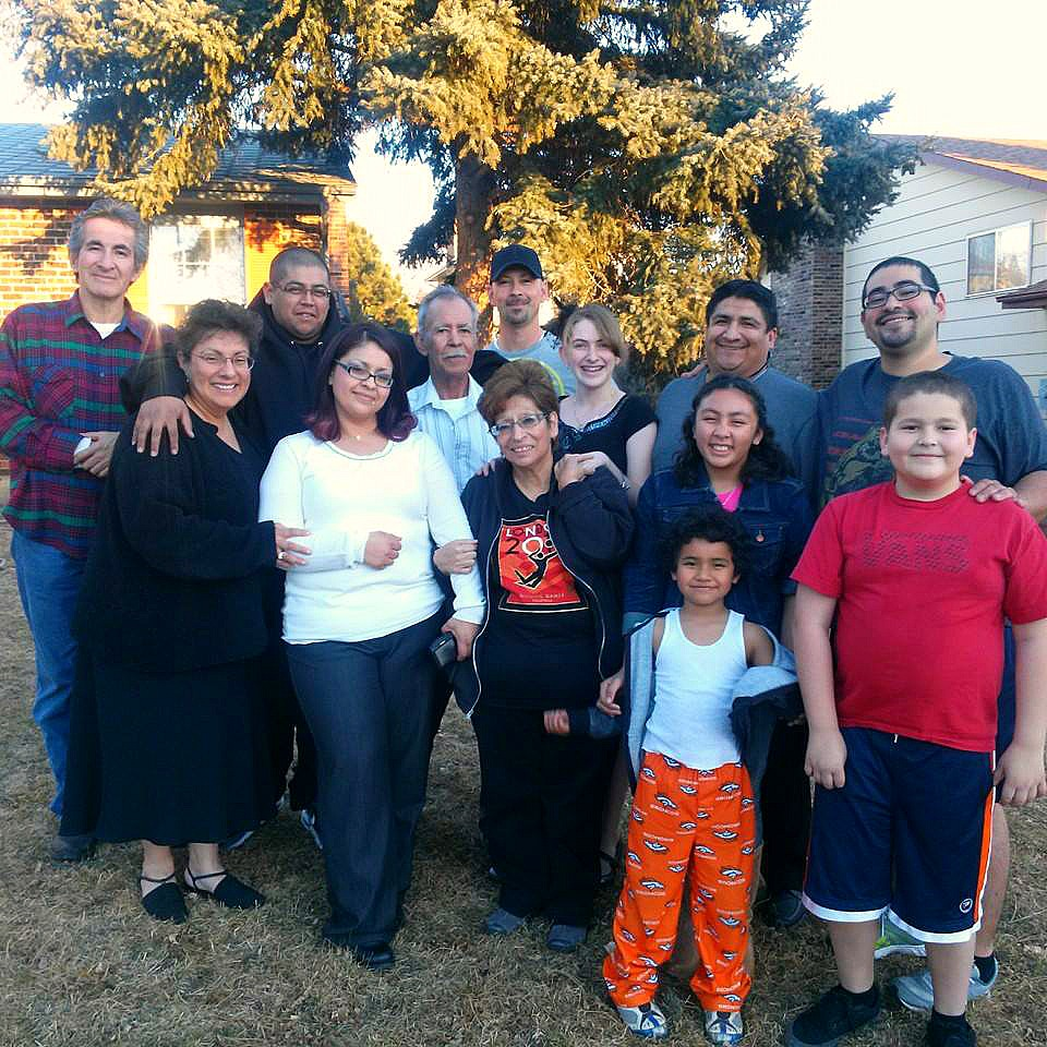 Rodriguez Family Thanksgiving 2014