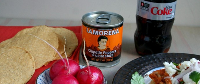 Leftover Turkey? Make Turkey Tinga with La Morena Chipotle Peppers