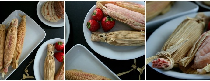 Strawberry Yogurt Tamales – Las Posadas celebrations just got better