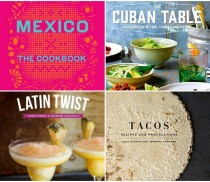 Latino Foodie Christmas Wishlist  Books 2015