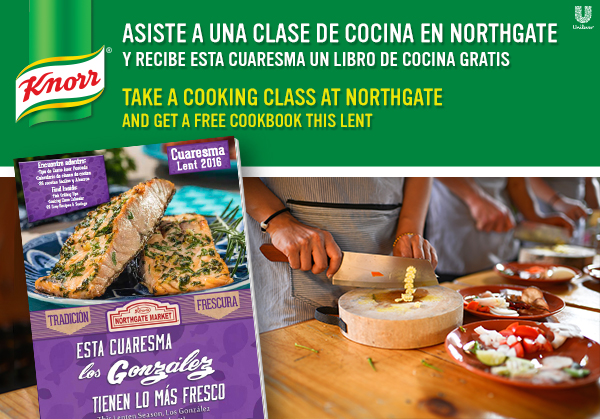 Prueba el sabor de Knorr at Northgate this Lent
