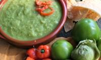 Tomatillo Habanero Salsa