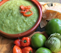 Tomatillo Habanero Salsa hor 2