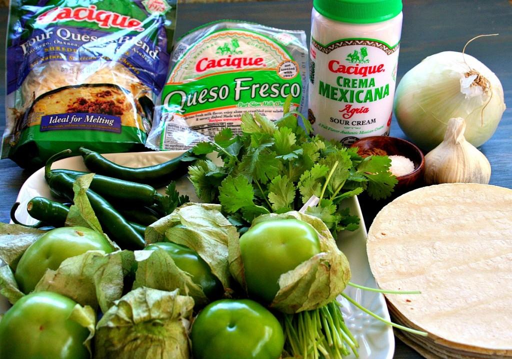 Cilantro Cream Chilaquiles Product Shot