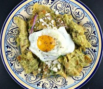 Cilantro Cream chilaquiles1 - Cacique