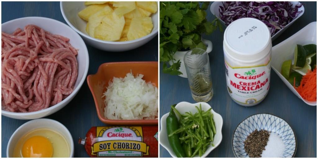 Cacique Soy Chorizo Burgers w  Creamy Slaw