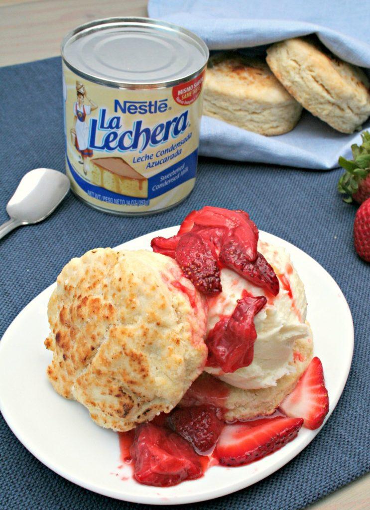 Strawberry shortcake - LatinoFoodie