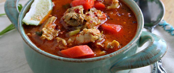 Caldo de Pollo (Chicken Soup) – LOW CARB VERSION