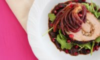 Valentine's Dinner: Ancho-Pomegranate Roasted Pork Loin