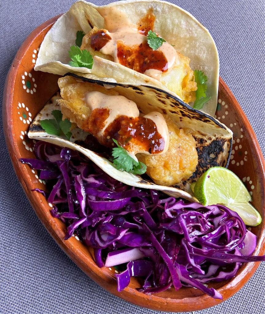 LatinoFoodie - Beer-battered fish tacos