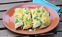 Hatch Enchiladas Suizas with Chicken