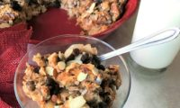 Raisin Coconut Bread Pudding Recipe