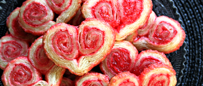 Valentine's Day Cookies: Orejas or Palmiers