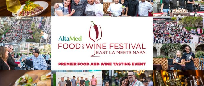 ALTAMED SHOWCASES THE BEST OF LATIN FOOD AND WINES