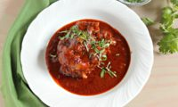 BRAISED OXTAIL IN A GUAJILLO SAUCE