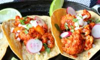 ROASTED CAULIFLOWER AL PASTOR TACOS