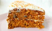 CARROT CAKE RECIPE: MOIST AND DENSE