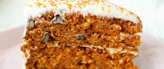 CARROT CAKE RECIPE: MOIST AND DENSE
