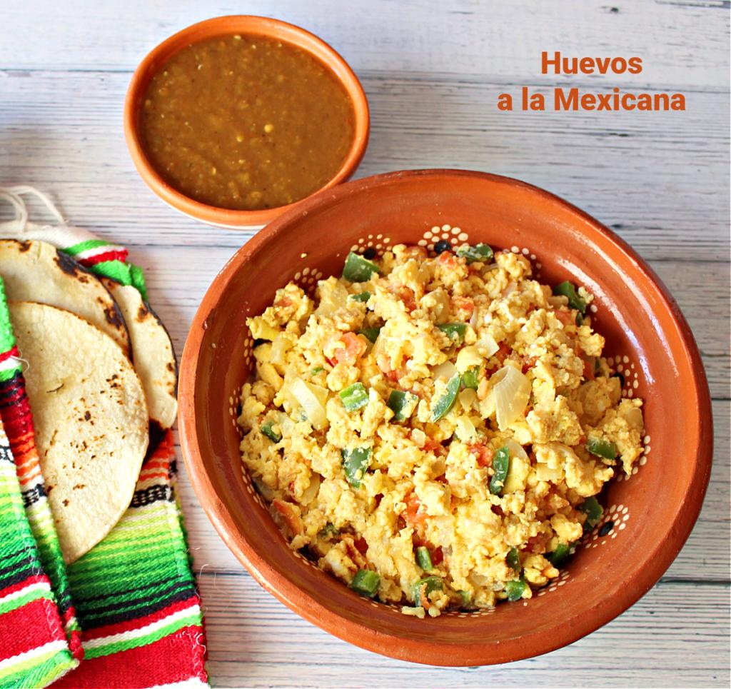 Huevos a la Mexicana - LatinoFoodie.com